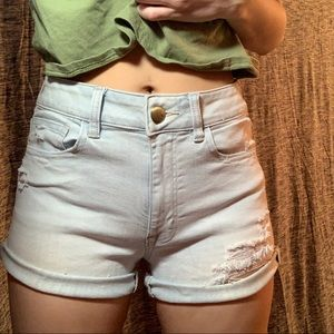 American Eagle high rise shorts, size 6